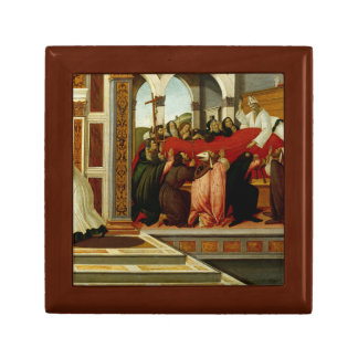 Sandro Botticelli - Last Miracle and the Death of Jewelry Boxes