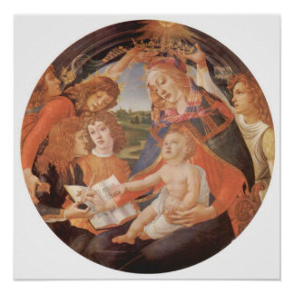 Sandro Botticelli-Madonna the Magnificent Poster