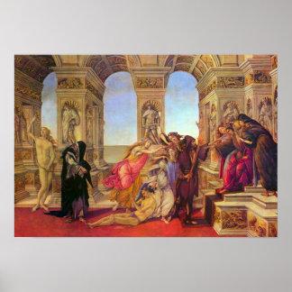 Sandro Botticelli-Slander Poster