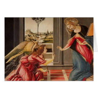 Sandro Botticelli - The Annunciation GC Card