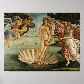 Sandro Botticelli - The Birth of Venus Poster
