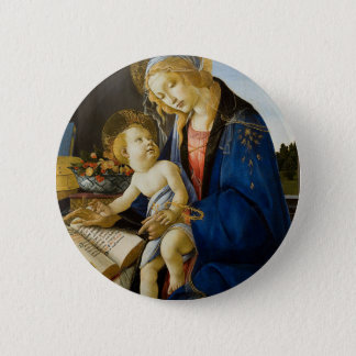 Sandro Botticelli - The Virgin and Child 2 Inch Round Button