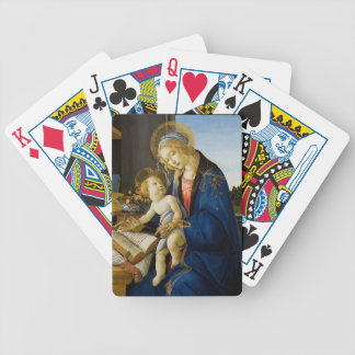 Sandro Botticelli - The Virgin and Child Bicycle Playing Cards
