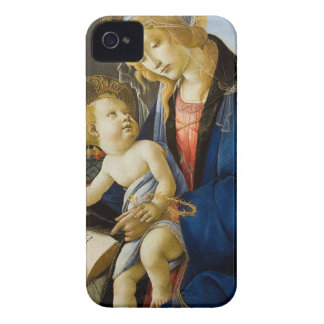 Sandro Botticelli - The Virgin and Child iPhone 4 Cases