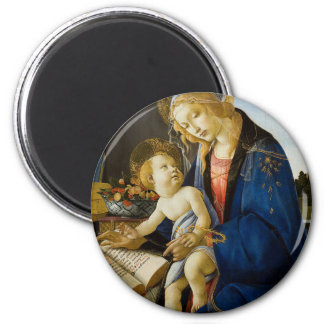 Sandro Botticelli - The Virgin and Child Magnet