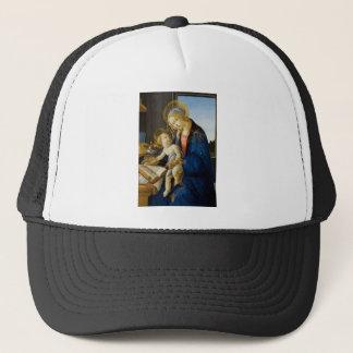 Sandro Botticelli - The Virgin and Child Trucker Hat