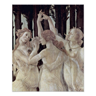 Sandro Botticelli - Three Graces Poster