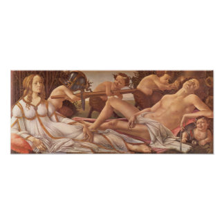 Sandro Botticelli-Venus and Mars Poster