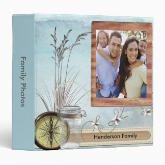 Sands Of Time Family Album Photo 3 Ring Binder