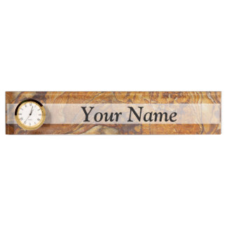 Sandstone abstract pattern name plates