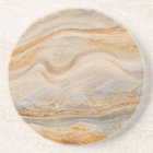 Sandstone Background - Sand, Stone Rock Customized Coaster