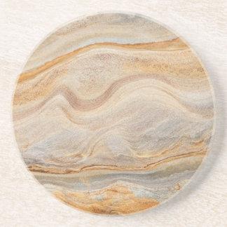 Sandstone Background - Sand, Stone Rock Customized Coaster