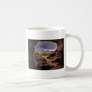 Sandstone Cave In Stormy Weather - Moab - Utah Coffee Mug