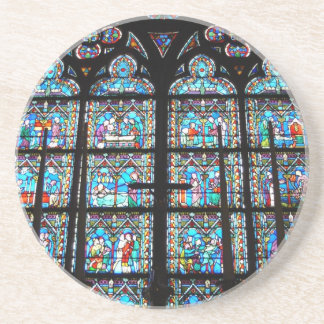 Sandstone Coaster--Stained Glass Windows Coaster
