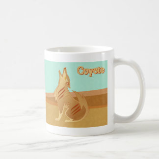 Sandstone Coyote Mug