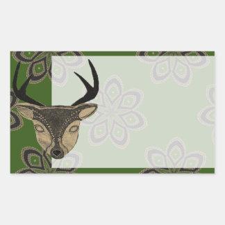 Sandstone Deer Sticker