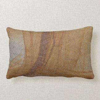 Sandstone double sided lumbar cushion