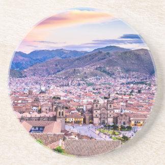 Sandstone Drink Coaster Cusco