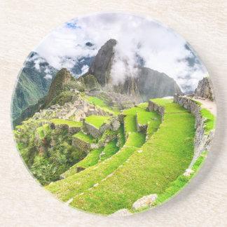 Sandstone Drink Coaster Machu Picchu, Cusco - Peru