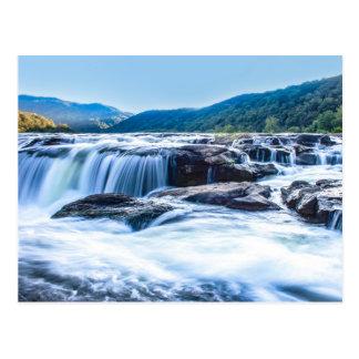 Sandstone Falls, West Virginia Postcard