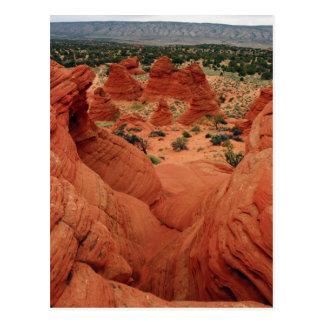 Sandstone Formations Postcard