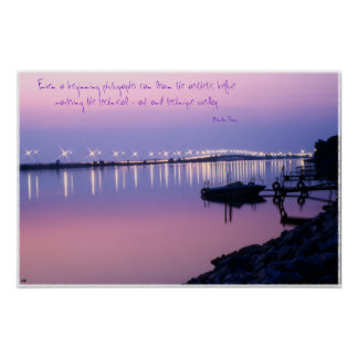Sandusky Bay Bridge Poster