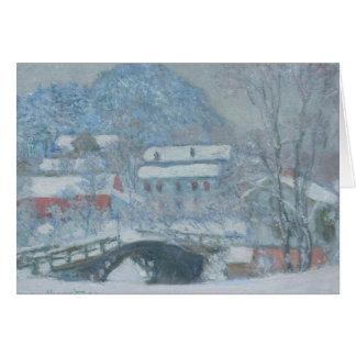 Sandviken Norway in the Snow Card
