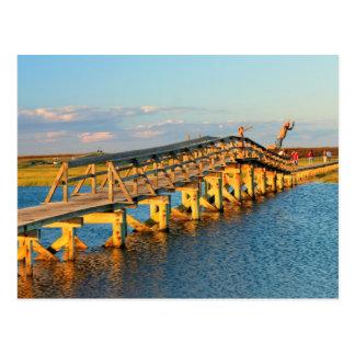 Sandwich Boardwalk jumpers Cape Cod Postcard