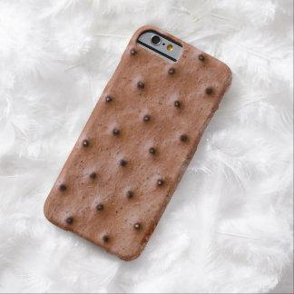 Sandwich drôle à crème glacée coque iPhone 6 barely there