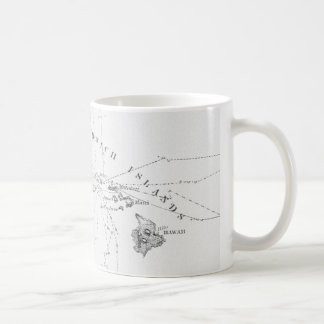 Sandwich Islands Historic Chart Mug