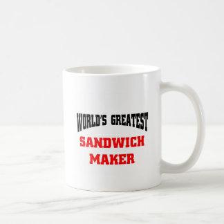 Sandwich maker coffee mug