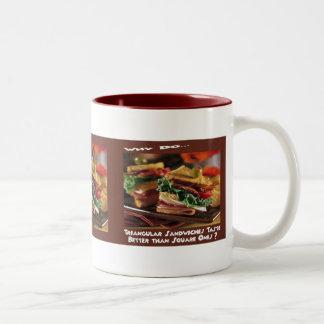 Sandwich Question Mug