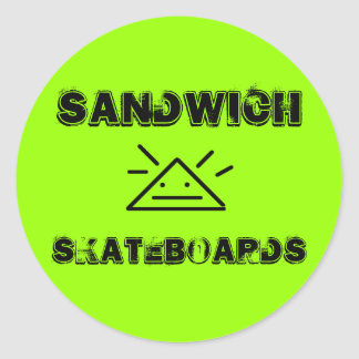 Sandwich Skateboards® Sticker