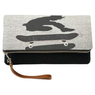 sandwiched skateboard clutch