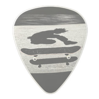 sandwiched skateboard polycarbonate guitar pick