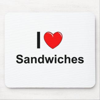 Sandwiches Mouse Pad