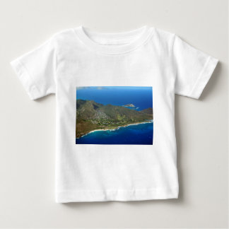 Sandy Beach Aerial Baby T-Shirt