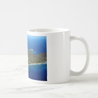Sandy Beach Aerial Coffee Mug