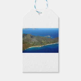 Sandy Beach Aerial Gift Tags
