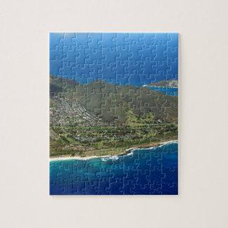 Sandy Beach Aerial Jigsaw Puzzle