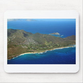 Sandy Beach Aerial Mouse Pad