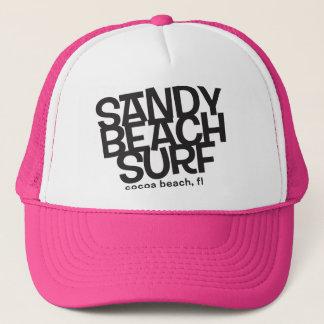 Sandy Beach Surfing Trucker HAt
