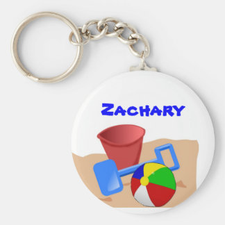 Sandy Beaches Keychain