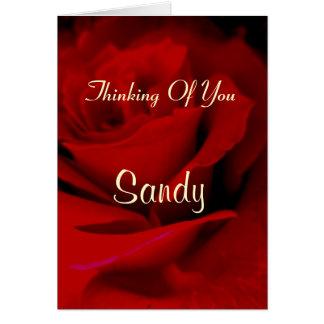 Sandy Card