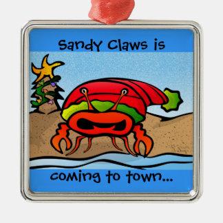 Sandy Claws Ornament