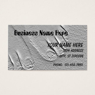 sandy feet business card
