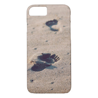 Sandy Footsteps iPhone 7 Case