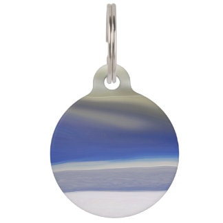 Sandy Hook Abstract Pet ID Tag