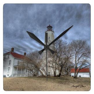 Sandy Hook Lighthouse Clock 2