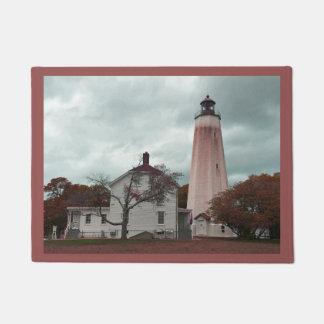 Sandy Hook Lighthouse Doormat